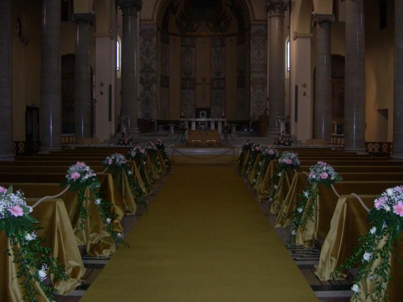 S anselmo momento magico addobbi floreali per matrimoni for Cretonne per arredamento e tappezzerie
