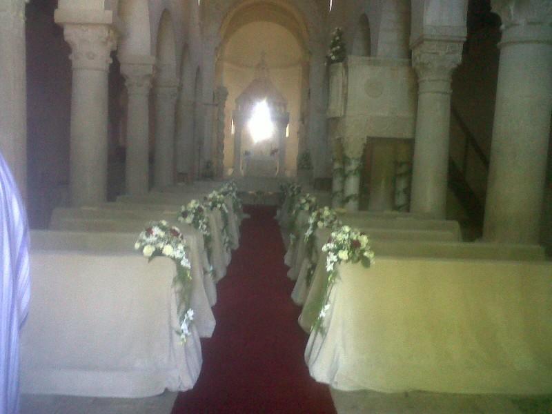 Bominaco momento magico addobbi floreali per matrimoni for Cretonne per arredamento e tappezzerie